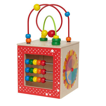 Activity Cubes and Bead Toys
