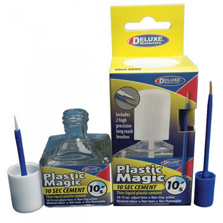 AD83 Plastic Magic 10 sec Cement 40ml