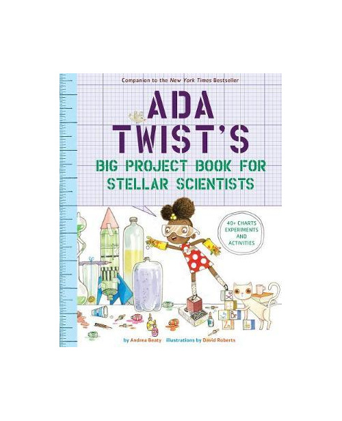 Ada Twist's Big Project Book for Stellar Scientists (PRE-ORDER ONLY)