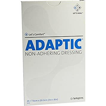 ADAPTIC DR 7.6C X 20.3/24  EACH