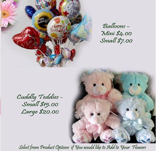 add a balloon or a teddy