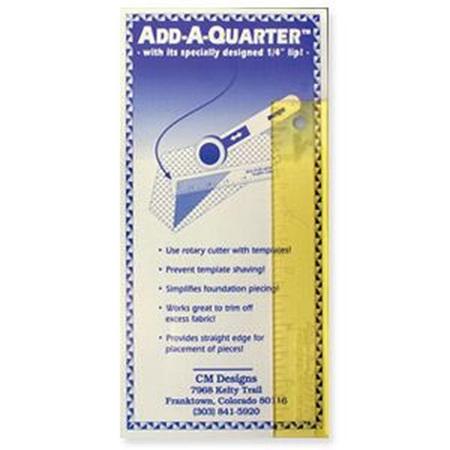 Add-A-Quarter Ruler