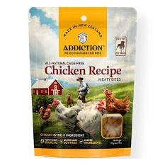 Addiction Meaty Bites Dog Treats - Chicken