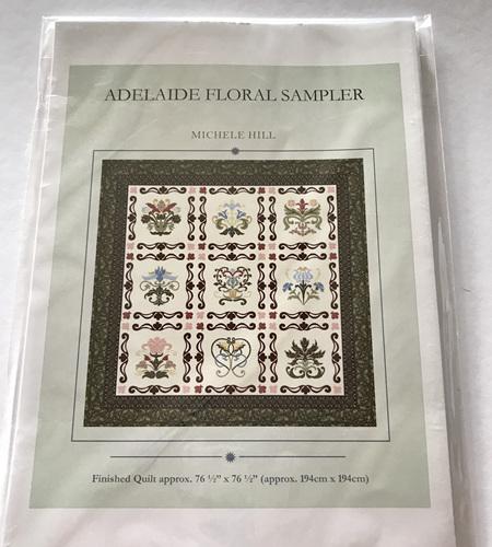 Adelaide Floral Sampler Quilt Pattern