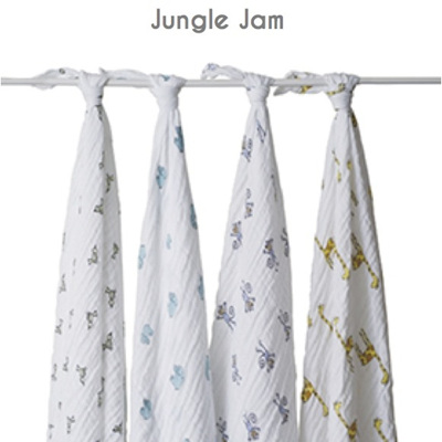 Aden & Anais - 4 pack classic muslin swaddles