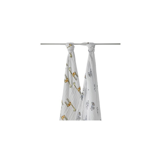 Aden and anais swaddle two pack on sale now - Jungle Jam