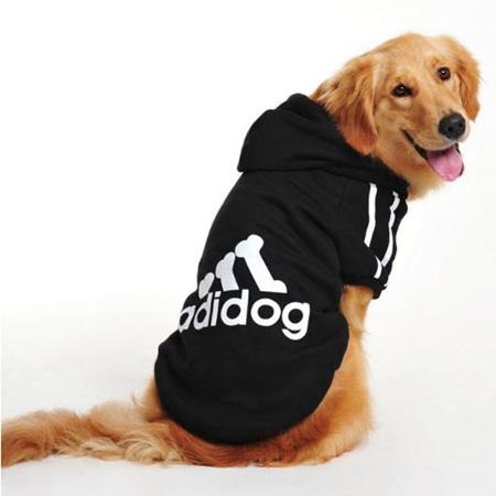 Adidog Hoodie - Black