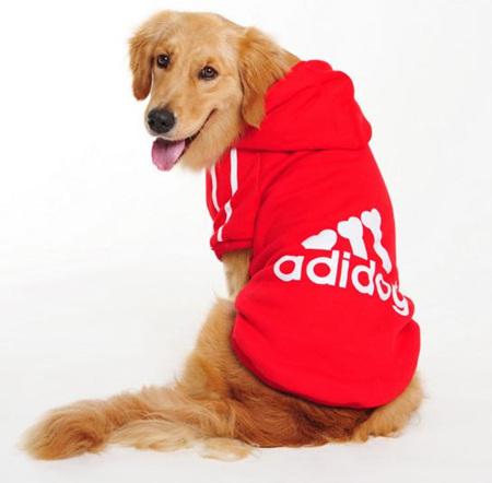 Adidog Hoodie - Red