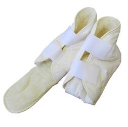 Adjustable Wool Fleece Boot with Toe