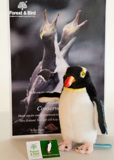 Adopt a Hoiho - Yellow-Eyed Penguin