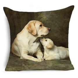 Adorable Labrador Cushion Cover