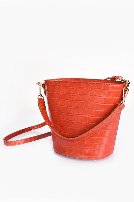Adorne Mini Croc Fan Bag