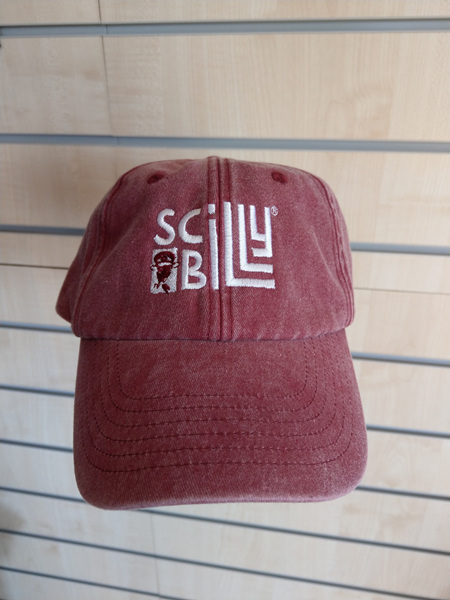 Adult Baseball Cap - Vintage Red