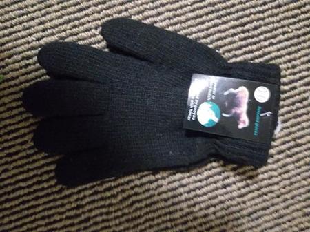 Adult Black Gloves (1shp)