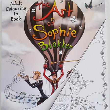 Adult Colouring Book - The Art of Sophie Blokker