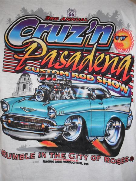 Adult Medium -3rd Annual Cruz'n Pasadena