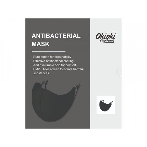Adult Reusable Fabric Mask Black Single