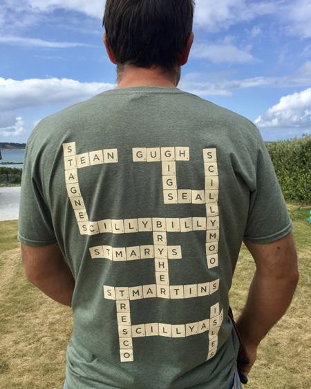Adult Scrabble Tee - Marram Grass