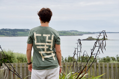 Adult Scrabble Tee - Marram Grass
