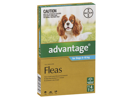 Advantage Dog Medium 4-10kg