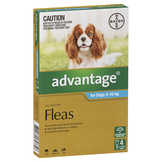 Advantage Dog Medium 4-10kg