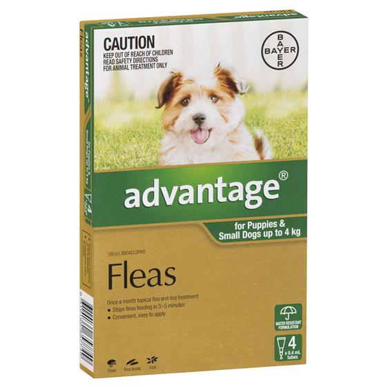 Advantage Dog Small 0-4kg