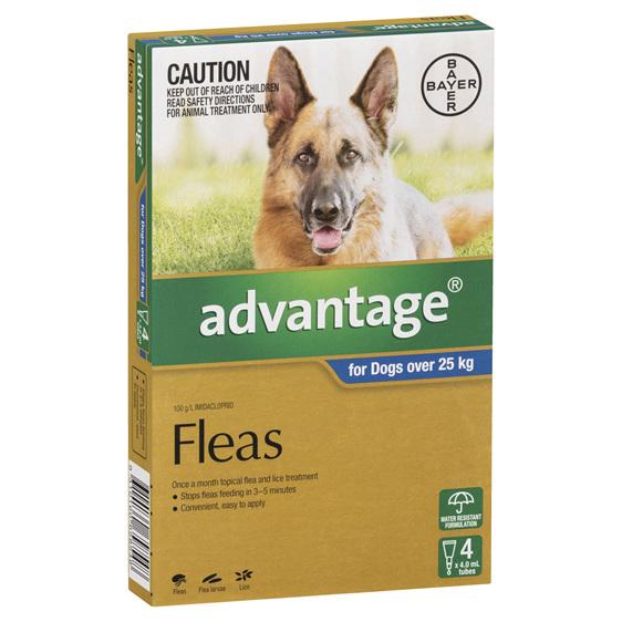 Advantage Dog XLarge 25kg+