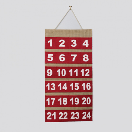 Advent calendar 780mm x 400m