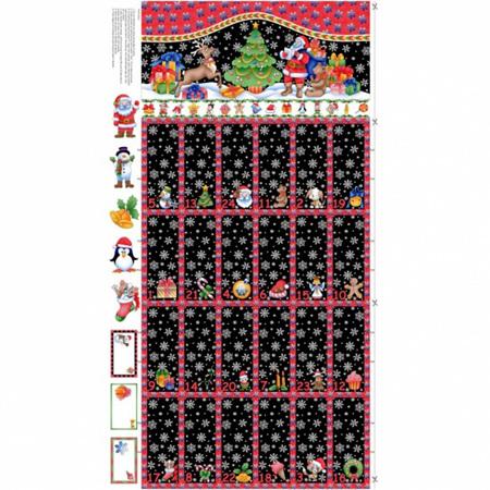 Advent Calendar Red +  Black NT89280101