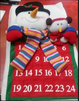 Advent calendar - snowman