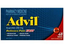 Advil 200mg Tablets 48s