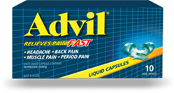 ADVIL Liquid Cap 10s