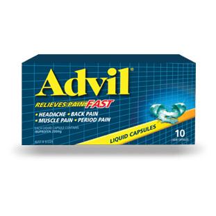 ADVIL Liquid Cap 10s