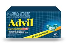 Advil Liquid Caps 40