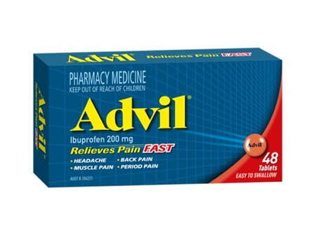 ADVIL TAB 200MG 48