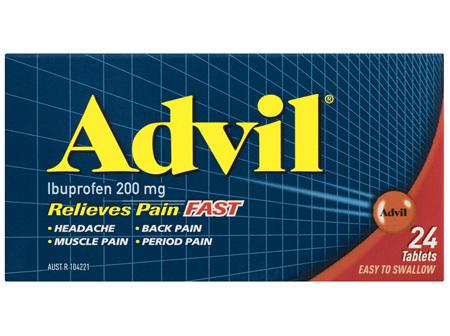 Advil Tablets 24 Pack