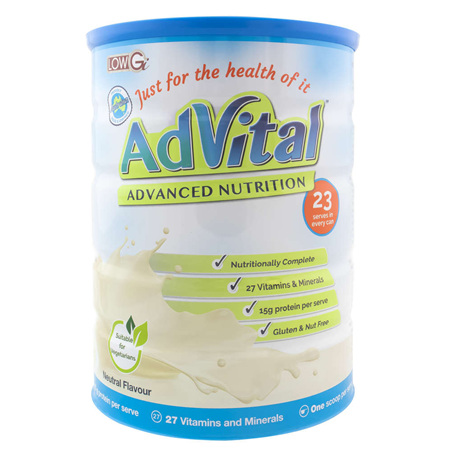 ADVITAL ADVANCED NUTRITION NEUTRAL 805G