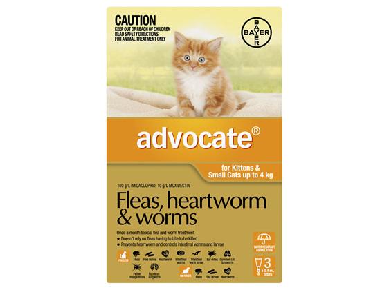 Advocate Cat Small 0-4kg