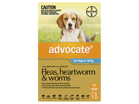 Advocate Dog Medium 4-10kg
