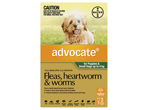Advocate Dog Small 0-4kg