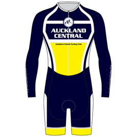 AERO Speedsuit Long Sleeve - Auckland Central Cycling Club