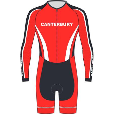 AERO Speedsuit Long Sleeve - Canterbury Cycling