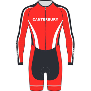 AERO Speedsuit Long Sleeve - Canterbury Cycling