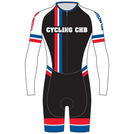 AERO Speedsuit Long Sleeve - Cycling CHB
