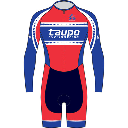 AERO Speedsuit Long Sleeve - Taupo Cycling Club
