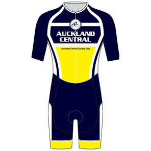 AERO Speedsuit Short Sleeve - Auckland Central Cycling Club