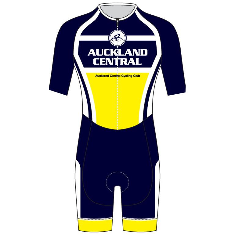 AERO Speedsuit Short Sleeve - Auckland Central Cycling Club