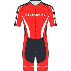 AERO Speedsuit Short Sleeve - Canterbury Cycling