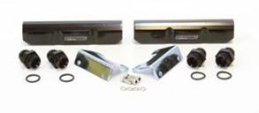 Aeroflow Billet Fuel Rail - EJ20 (black)