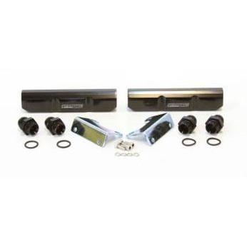 Aeroflow Billet Fuel Rail - EJ20 (black) - AF64-2058BLK
